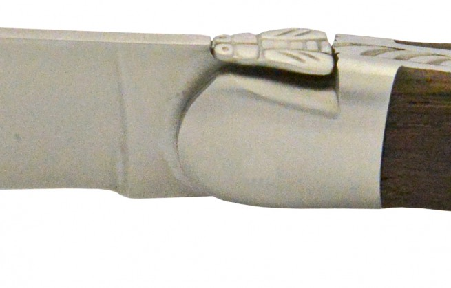 Laguiole Subfossile, couteau millénaire