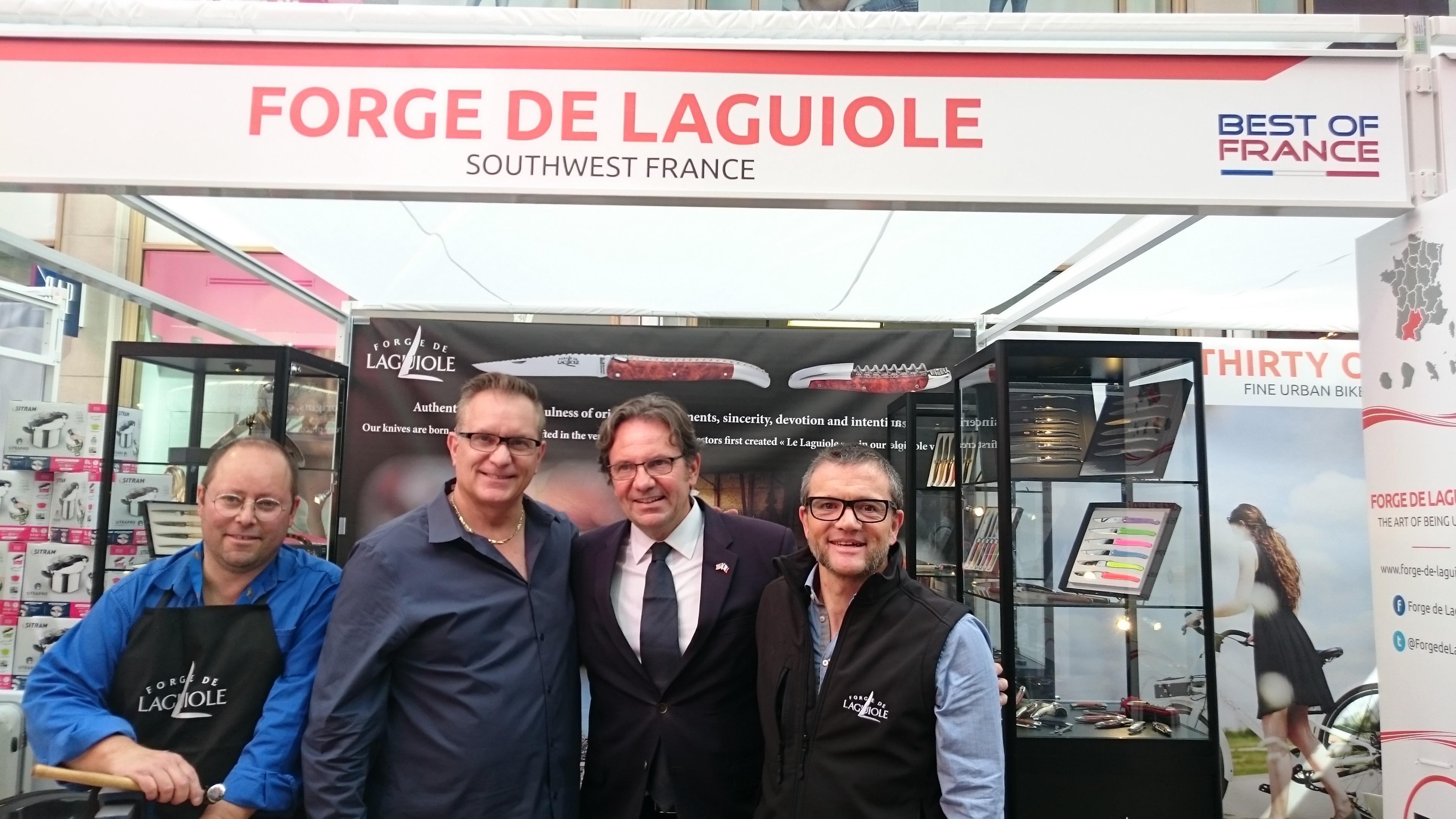 Visite de Frédéric Lefebvre, député des Français établis hors de France