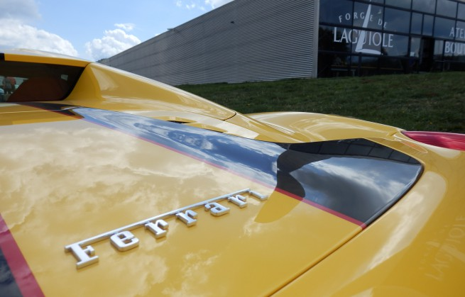 Nouvelle visite Ferrari à Forge de Laguiole