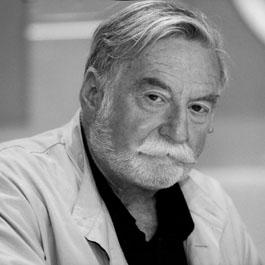 Jacques Lanzmann, unpromeneur et son laguiole