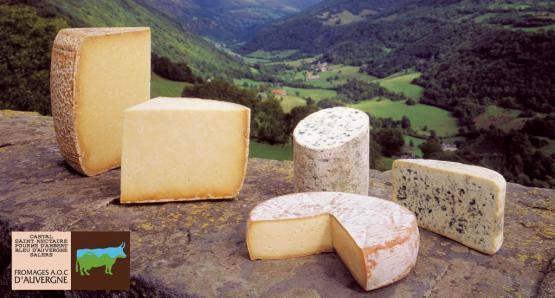 Noël sur un plateau de fromages
