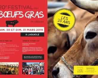 Rendez-vous aux Bœufs gras à Laguiole ce week-end!