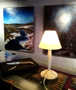 expo peinture boutique forge de laguiole